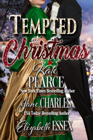 Tempted at Christmas Cover